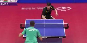 Vladimir Samsonov vs Dimitrij Ovtcharov (European Games, June 2015)