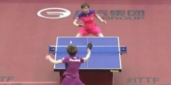 Chen Meng vs Zhu Yuling (Japan Open, June 2015)