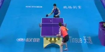 Timo Boll vs Fang Bo (Chinese Super League, August 2015)
