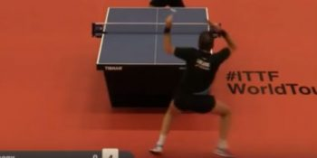 Jean Michel Saive vs Anthony Tran (Belgium Open, September 2015)