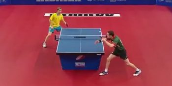 Marcos Freitas vs Par Gerell (European Table Tennis Championships, September 2015)