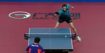 Fan Zhendong vs Stefan Fegerl (Polish Open, October 2015)