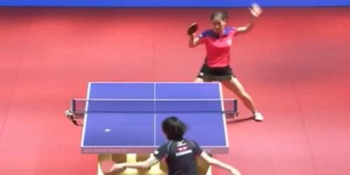 20151102 - Liu Shiwen vs Kasumi Ishikawa