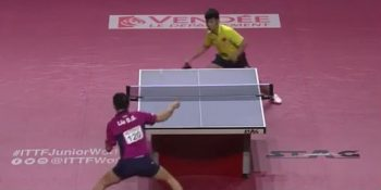 Liu Dingshuo vs Xue Fei (World Junior Table Tennis Championships, December 2015)