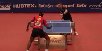 Achanta Sharath Kamal vs Ruwen Filus (German League, January 2016)