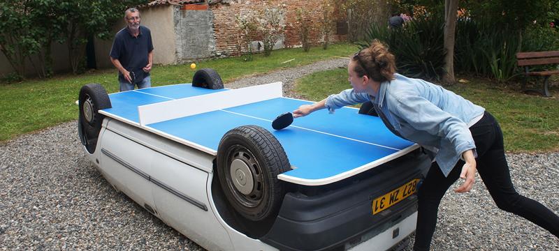 car-ping-pong