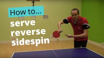 (Video) How to do a reverse sidespin serve