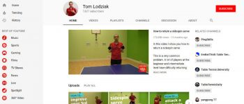 One million views of my table tennis YouTube channel