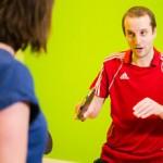Tom Lodziak - 1 to 1 table tennis coaching