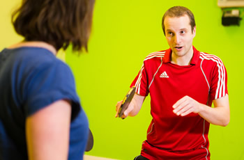 Tom Lodziak - 1 to 1 table tennis coaching
