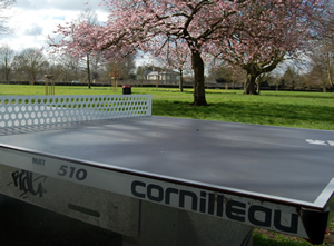 outdoor table tennis cambridge