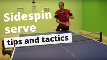 (Video) Sidespin serve – tips and tactics