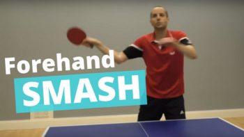 (Video) How to smash high balls