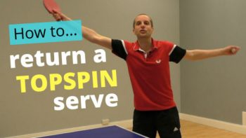 (Video) How to return a topspin serve