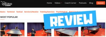 Review: Table Tennis Daily Academy
