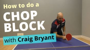 (Video) How to do a chop block with Craig Bryant