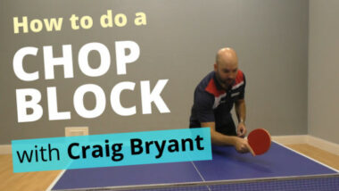 How to do a chop block
