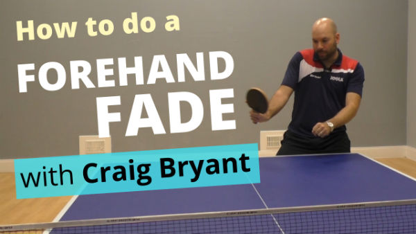 [Video] How to do a forehand fade – with Craig Bryant