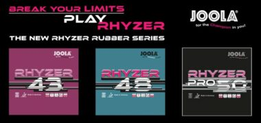 JOOLA Rhyzer 43 / 48 / Pro 50 Rubber Review