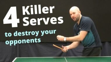 4 killer serves to destroy your opponents