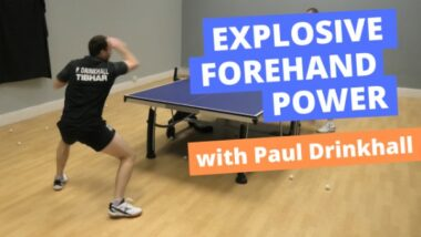 How to get explosive forehand power