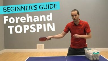 Beginner's guide to forehand topspin
