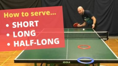 How to serve short, long and half-long