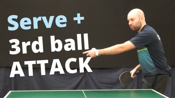 [Video] Serve + 3rd ball attack – with Craig Bryant