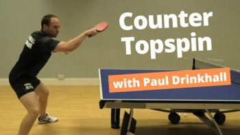 [Video] Beat your opponent with quick counter topspins – with Paul Drinkhall