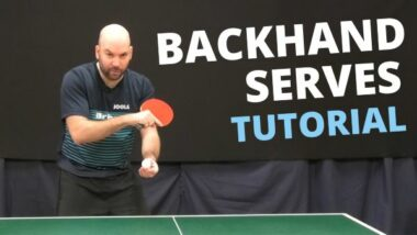 How to do top quality BACKHAND serves