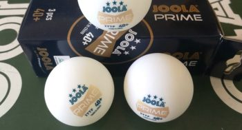 Review: JOOLA Flash, JOOLA Prime and JOOLA Magic table tennis balls
