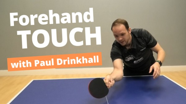 [Video] How to return serves with a touch shot – with Paul Drinkhall
