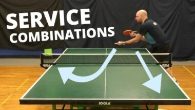 Service combinations to confuse your opponents
