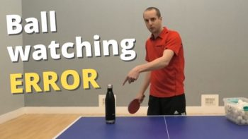 [Video] Common ball-watching error – and how to fix it
