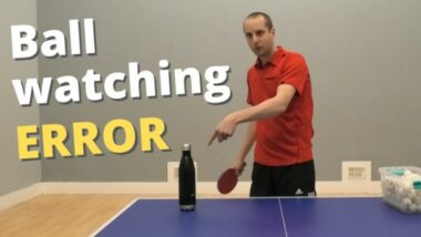 Common ball-watching error – and how to fix it