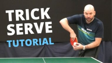 How to do devious TRICK SERVES