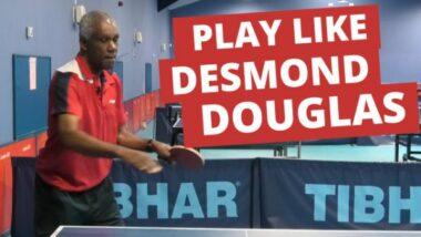 How to play like Desmond Douglas
