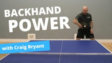 How to get more BACKHAND POWER