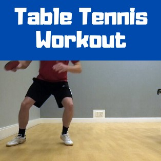 Tom Lodziak Table Tennis Workout
