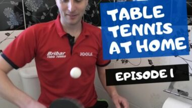 Table tennis at home