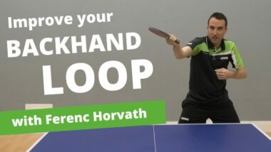 How to improve your backhand loop