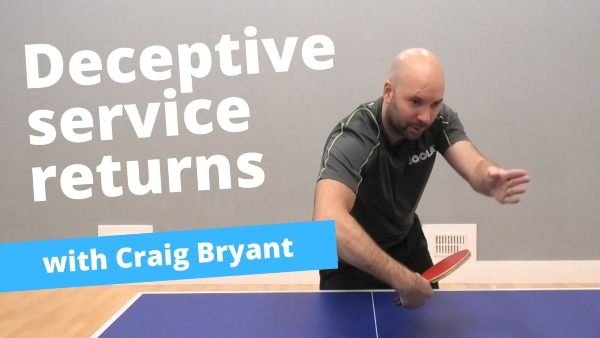 [Video] How to confuse your opponent when returning serves – with Craig Bryant