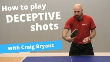 How to play deceptive shots