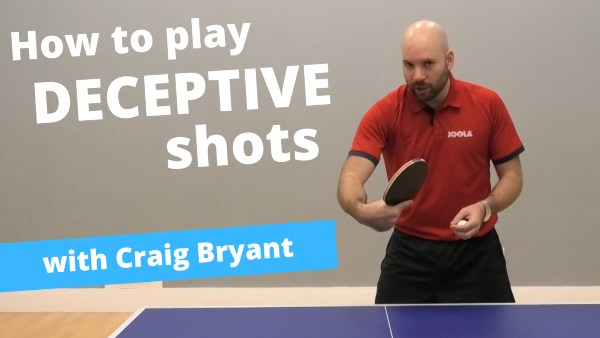 [Video] How to play deceptive shots – with Craig Bryant