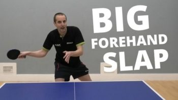 How to do the big forehand slap shot