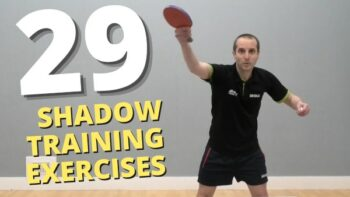 29 table tennis shadow training ideas + FREE workout sessions