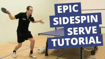 [Video] Epic sidespin serve tutorial