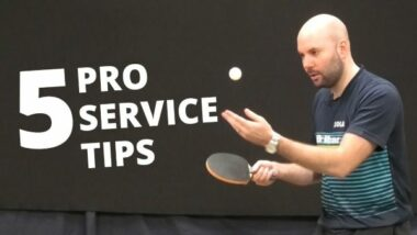 5 ways to make your serves stronger