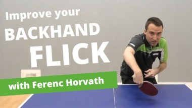 5 tips to improve your backhand flick