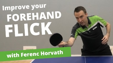 How to improve your forehand flick